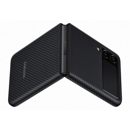 Official Samsung Galaxy Z Flip 3 Aramid Case - Black