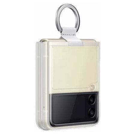 Official Samsung Galaxy Z Flip 3 Ring Case - Transparent