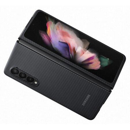 Official Samsung Galaxy Z Fold 3 Aramid Case - Black