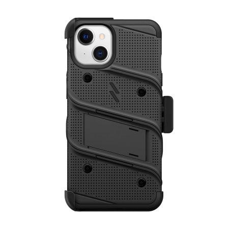 Zizo Bolt iPhone 13 mini Protective Case & Screen Protector - Black