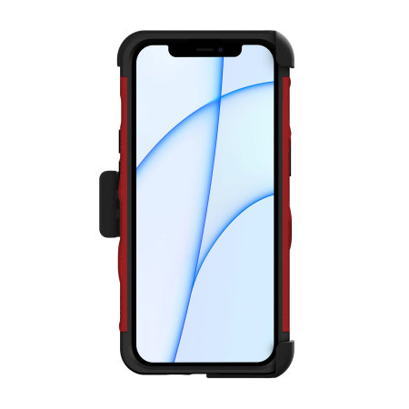 Zizo Bolt iPhone 13 Protective Case & Screen Protector - Red