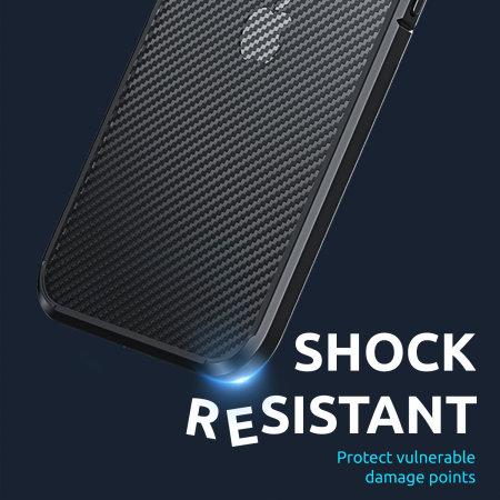 Olixar ExoShield iPhone 13 mini Bumper Case - Black