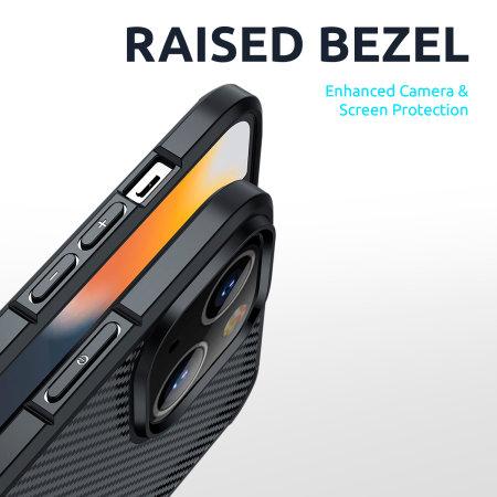Olixar ExoShield iPhone 13 Bumper Case - Black