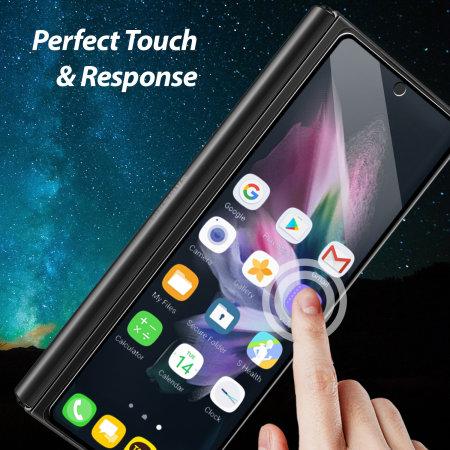 Whitestone EZ Glass Samsung Galaxy Z Fold 3 Screen Protectors - 2 Pack