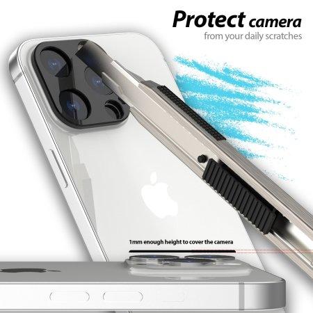 Whitestone Dome EZ iPhone 13 Camera Protectors - 2 Pack