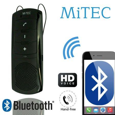 MiTec Bluetooth Enabled Hands-Free Car Visor Kit & Built-In Speaker