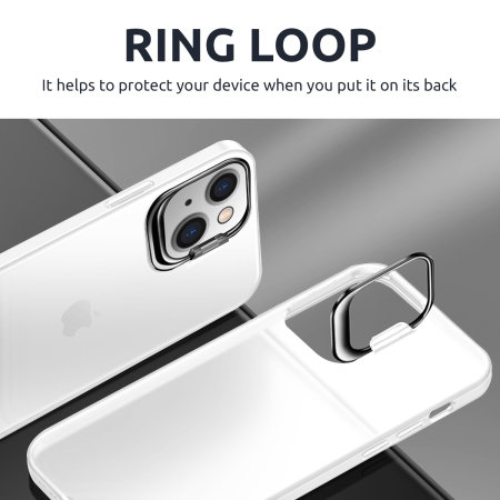Olixar iPhone 13 Pro Max Camera Stand Case - Clear