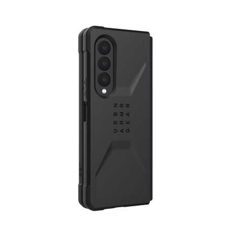 UAG Civilian Samsung Galaxy Z Fold 3 Protective Case - Black
