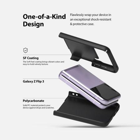 Ringke Slim Samsung Galaxy Z Flip 3 Tough Case - Black