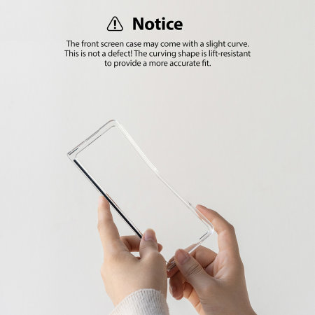 Ringke Slim Samsung Galaxy Z Fold 3 Tough Case - Matte Clear