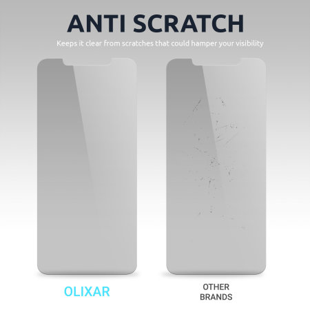Olixar iPhone 13 Privacy Tempered Glass Screen Protector