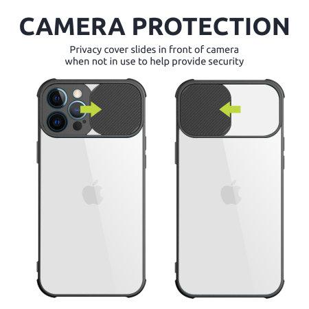 Olixar iPhone 13 Pro Max Camera Privacy Cover Case - Graphite