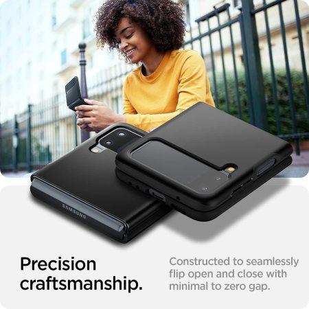 Spigen Thin Fit Samsung Galaxy Z Flip 3 Protective Case - Black