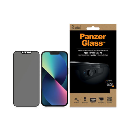 PanzerGlass iPhone 13 CamSlider Privacy Screen Protector