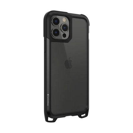 SwitchEasy Odyssey iPhone 13 Pro Case With Adjustable Strap - Black