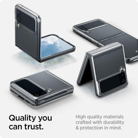 Spigen Air Skin Samsung Galaxy Z Flip 3 Slim Case - Crystal Clear