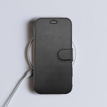 Olixar MagSafe Compatible iPhone 13 Pro Max Wallet Case - Graphite