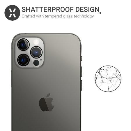 Olixar iPhone 13 Pro Max Screen Protector & 2 Pack Camera Protectors