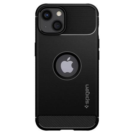 Spigen Rugged Armor iPhone 13 mini Tough Case - Matte Black