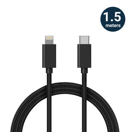 Olixar iPhone 13 mini Dual 36W Car Charger & 1.5m Lightning Cable