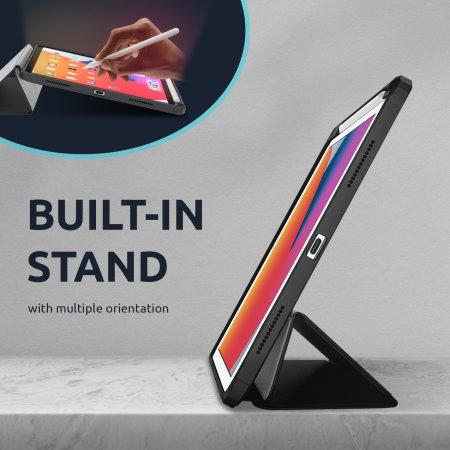 """Olixar iPad 10.2"""" 2021 9th Gen. Wallet Case With Apple Pencil Holder"""