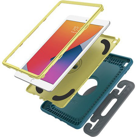 "OtterBox EasyGrab iPad 10.2"" 9th Gen. 2021 Shockproof Kids Case - Blue"