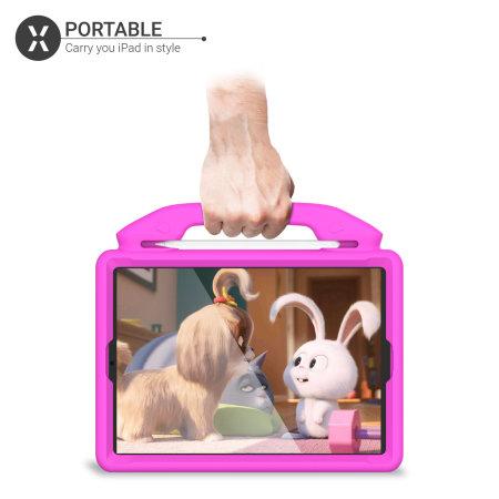 "Olixar iPad 10.2"" 2021 9th Gen. Child-Friendly Case - Pink"