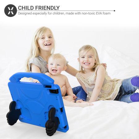 "Olixar iPad 10.2"" 2021 9th Gen. Child-Friendly Case - Blue"
