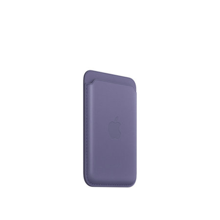 Official Apple iPhone Leather Wallet With MagSafe - Wisteria