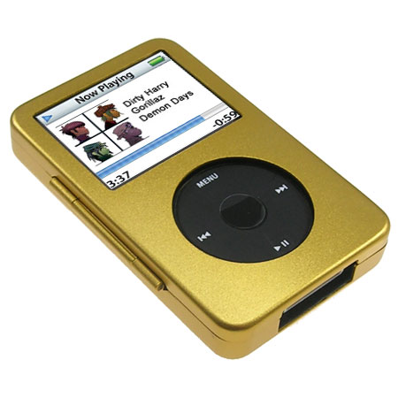 Metal Case Gold Ipod Video Ipod Classic