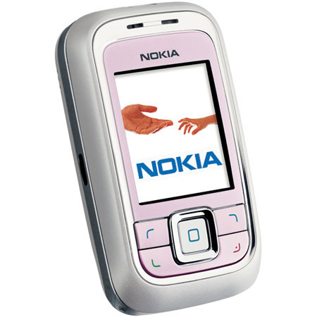 sim free mobile phone nokia 6111 pink
