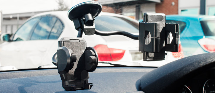 Adjustable Dual Windscreen Car Holder