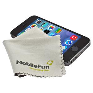 Paño de Limpieza de micro fibra de MobileFun - Blanco