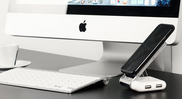 Desk Genie Non-Slip Charging Desk Stand
