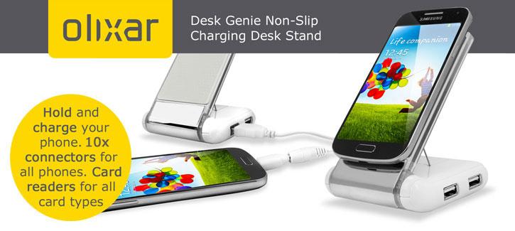 Olixar Desk Genie Non-Slip Charging Desk Stand