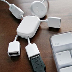 USB Buddy 4 Port USB 2.0 Hub