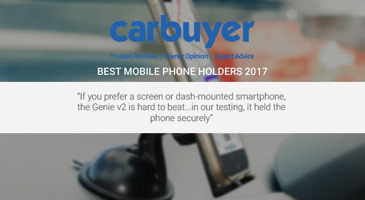 Olixar Dash Genie v2 Universal In-Car Dashboard and Windscreen Holder