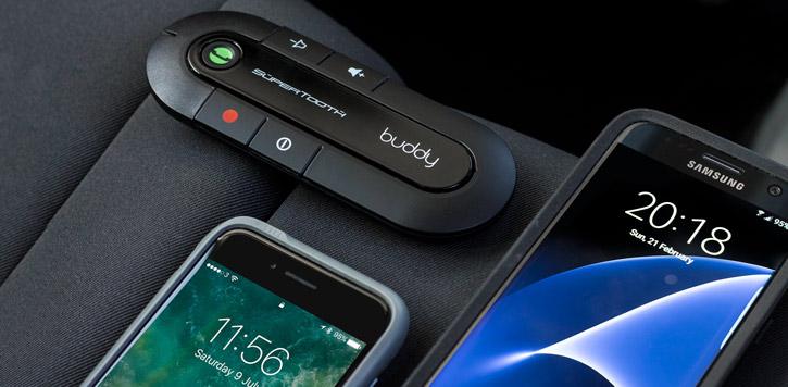 SuperTooth Buddy Bluetooth v2.1 Hands-free Visor Car Kit