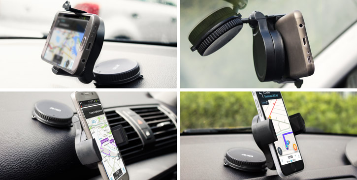 Support Voiture Universel Olixar OmniHolder Compatible Coques