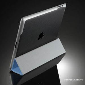 SGP iPad 2 Skin Guard Set Series - Black Leather