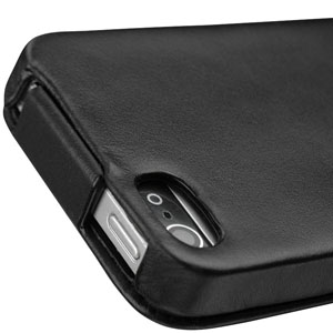 Noreve Tradition A Leather Case for iPhone 5 - Black