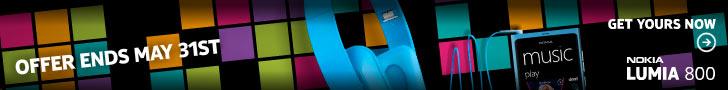 Sim Free Nokia Lumia 800 - Blue