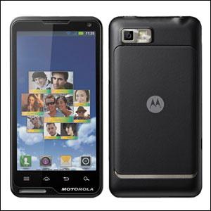 Sim Free Motorola Lure - Black