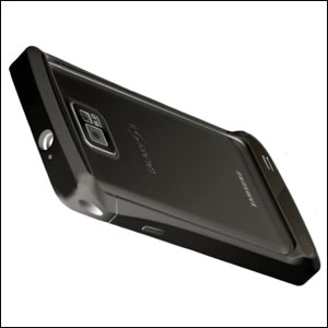 Draco Design Aluminium Bumper for the Samsung Galaxy S2 - Black