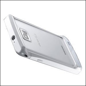 Draco Design Aluminium Bumper for the Samsung Galaxy S2 - Silver