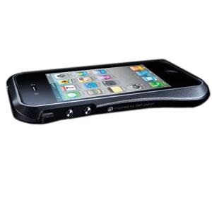 Draco Design Aluminium Bumper for the iPhone 4S / 4 - Black