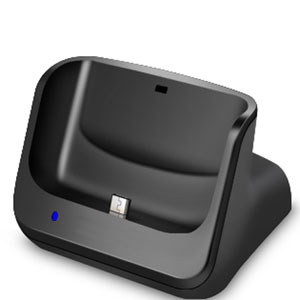 Samsung Galaxy Nexus Case Compatible Desktop Sync and Charge Cradle