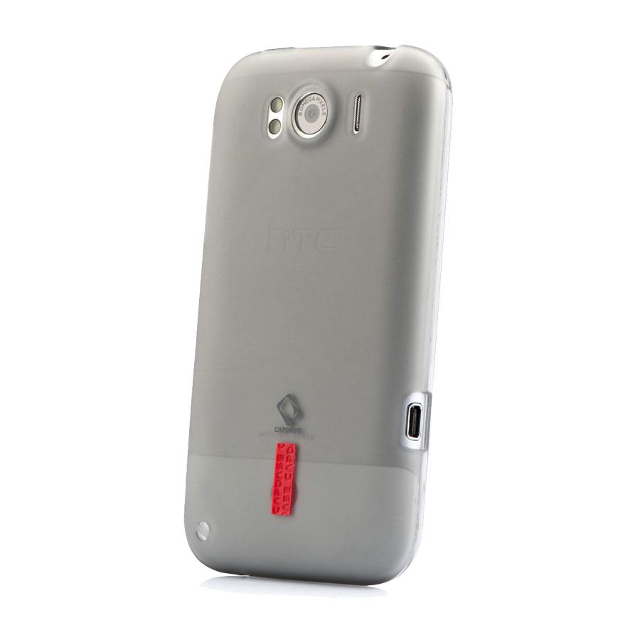 Capdase Black Smoke Soft Jacket Xpose - HTC Sensation XL