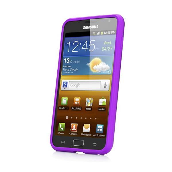 Coque Samsung Galaxy Note Capdase Alumor Metal - Mauve (avant)
