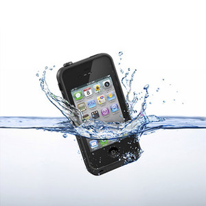 LifeProof Indestructible Case For iPhone 4S / 4 - Black